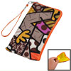 Multicolor Cartoon Boy Print Faux Leather Pouch Bag for Cell Phon...