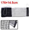 Replaceable Black White Nylon Polyester Sports Table Tennis Net
