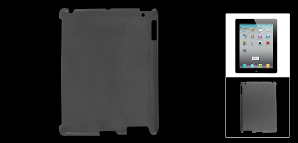 Protective Translucent Hard Plastic Back Cover Shell for iPad 2