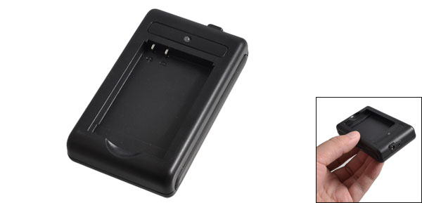 BL-5B/4C/5C/6C Lithium Battery Charger Dock Black for Nokia N90
