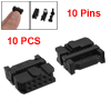 10 Pcs 10 Position Female IDC Socket Flat Ribbon Cable Connectors...