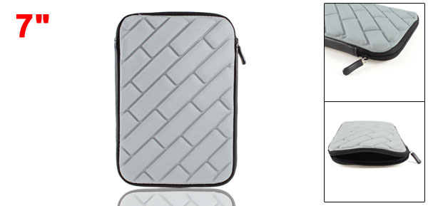 Gray Brick Sleeve Bag Carrying Case for 7