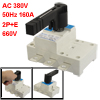 AC 380V 50Hz 160A 2P+E 660V Ui Electronic Corcuit Isolating Switc...