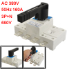AC 380V 50Hz 160A 3P+N 660V Ui Circuit Control Isolating Switch
