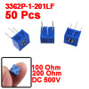 3362P-1-201LF 100 Ohm 200 Ohm Potentiometer Variable Resistors 50 Pcs