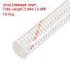 """10 Pcs 0.94M 37"""" Long 4mm Dia Electrical Wire Fiberglass Insulati..."""
