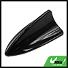 Self Adhesive Shark Fin Shaped Car Decorative Antenna Black