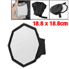 "Octangle Shape 7.4"" x 7.4"" Soft Box Flash Diffuser for Digital SLR Camera"