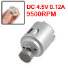 DC 4.5V 0.12A 15000RPM Mini Toy Vibration Motor 200g.cm
