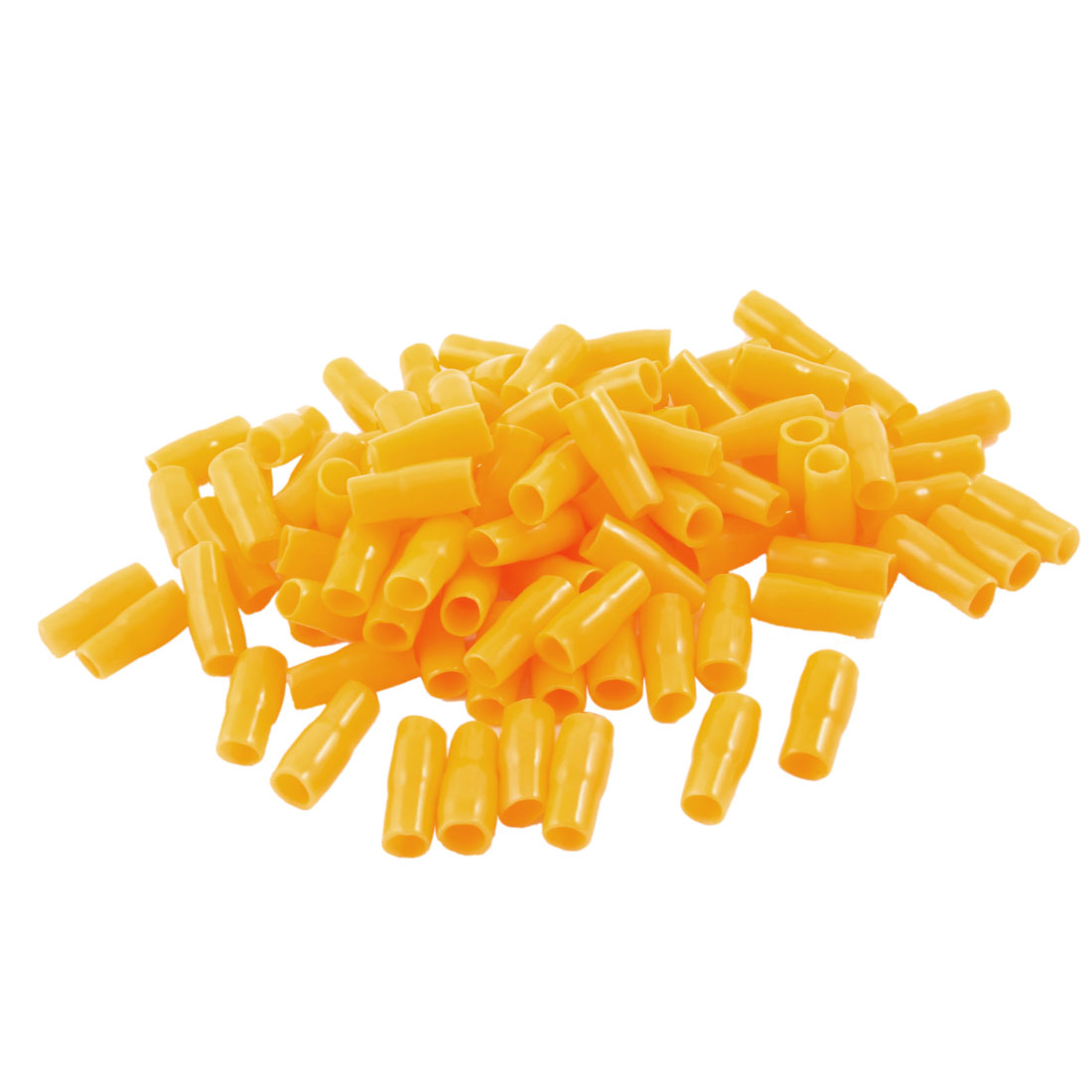100-Pcs-Yellow-Plastic-Battery-Terminal-Boots-Insulating-Covers