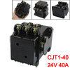 CJT1-40 Motor Control 40A 24V 50Hz Coil 3 Pole 2NO 2NC AC Contact...