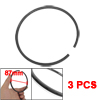 3 Pcs 95mm Outside Dia Piston Rings Set for Air Compressor
