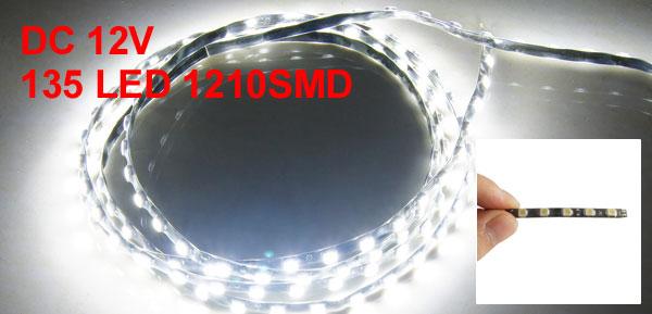 Car Auto DC 12V 1210 SMD 135 White LED Flexible Bar Light Lamp