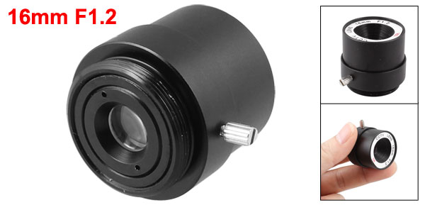16mm 17.1 Degree Angle Fixed CCTV IR Camera Lens for 1/3
