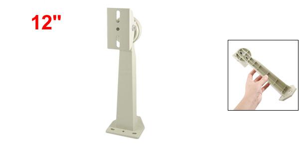 Metal Wall Mounted Surveillance CCTV Camera Stand Bracket White 12