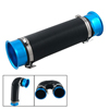 76mm Cold Air Intake Flexible Induction Pipe Hose Kit Blue Black