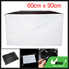 60cm x 90cm Studio Photography Flash Softbox Diffuser Black White