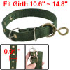 Pet Dog Single Prong Metal Buckle 2.3cm Wide Nylon Collar Neck St...