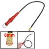 Car Repair Red Metal Plastic Handle Magnetic Pickup Tool 57cm Len...