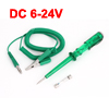 Auto Car Green Plastic Handle Circuit Voltage Tester DC 6-24V
