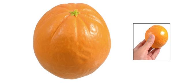 Emulational Foam Mandarin Orange Shape Fruit Home Furnishing Ornament