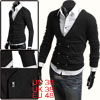 Men Stylish Long Sleeve Double Breasted ...