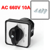 AC 660V 10A Latching 8 Terminals 5 Position Cam Combination Chang...