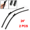 "2 Pcs Framless Windshield Flat Wiper Blades 24"" for BMW 5-Series ..."