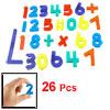 Colorful Plastic Arithmetic Symbol Arabic Numerals Magnetic Stick...