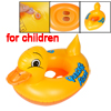 Yellow Duck Pattern Inflatable Paddle Floating Swimming Boat for ...
