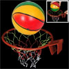 "Childred Indoor 8.2"" Basketball w Watermelon Shape Plastic Frame ..."