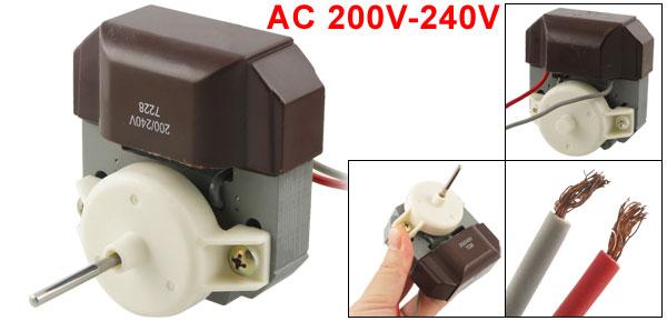 Repairing Part 3mm Top Pole Dia Refrigerator Fridge Motor AC 200V-240V