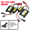 DC 12V 35W H4 6000K Car HID Xenon Headlight Lamp Ballast Kit