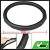"14"" Half Meshed Antislip Seam Grips Faux Leather Car Steering Whe..."