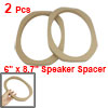 6X9 Inch Car Speaker Mount Spacer 15mm Depth Mounting Adapter 2 P...