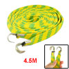 Bicycle 2 Hooks Striped Flat Stretch Yellow Green 4.5M Long Lugga...