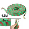 Elastic Flat Nylon Coated Luggage Cable Strap Rope 4.5M Green Red...