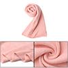 "Unisex Pink Stylish Long Acrylic Rectangle Style 11.8"" Width Wint..."