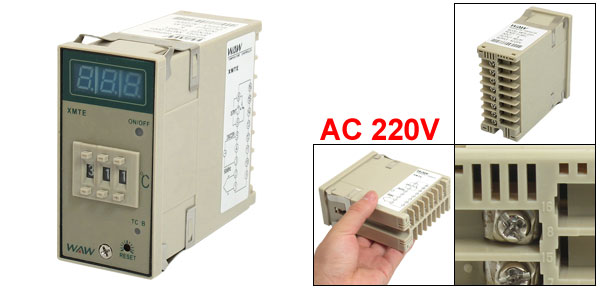 0-399C Display Range Temperature Controller 220VAC 50/60Hz XMTE-2001