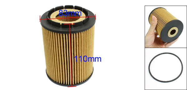 Cartridge Oil Filter for VW Caddy Jetta Multivan Passat Phaeton Polo Santana