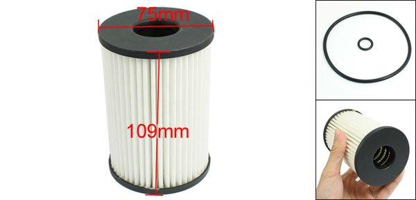 Cartridge Oil Filter w Rubber Seal Ring for BMW 500 600 700 Series