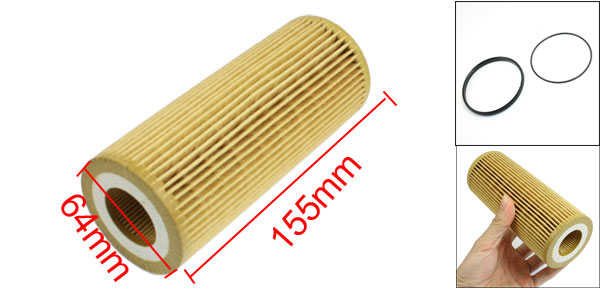 Cartridge Oil Filter for Audi A4 A5 A6 A7 A8 Quattro S4 S5