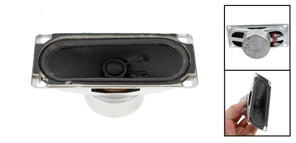 10W 8 Ohm Rectangular Metal Shell Internal Magnet Speaker