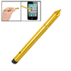 Gold Tone Plastic Tip Screen Stylus Touch Pen for iPad Tablet PC