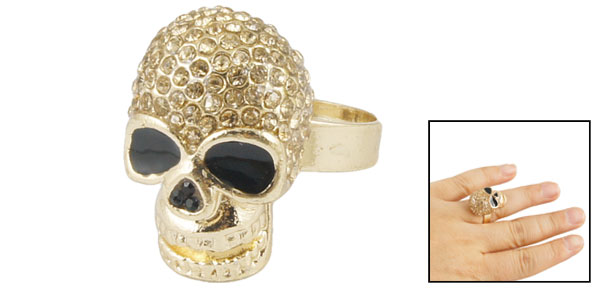 Rhinestone Accent Skull Design 0.95