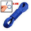 Home Outdoor Dark Blue Twisted Nylon Clothes Rope Line 9.4M