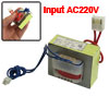 220V Input 12V 500mA One-Way Output EI Core Power Transformer