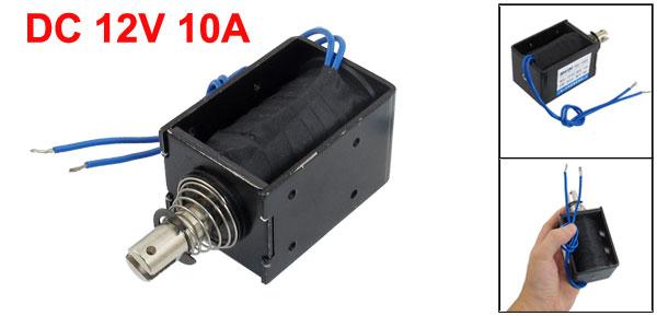 20mm Stroke Pull Type Open Frame Solenoid Electromagnet DC 12V