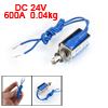 DC 24V 600mA 2mm 0.04kg Actuator Linear Pull Solenoid Electromagn...
