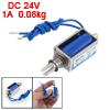 0.08kg Force 10mm Stroke Open Frame Solenoid Electromagnet DC 24V...